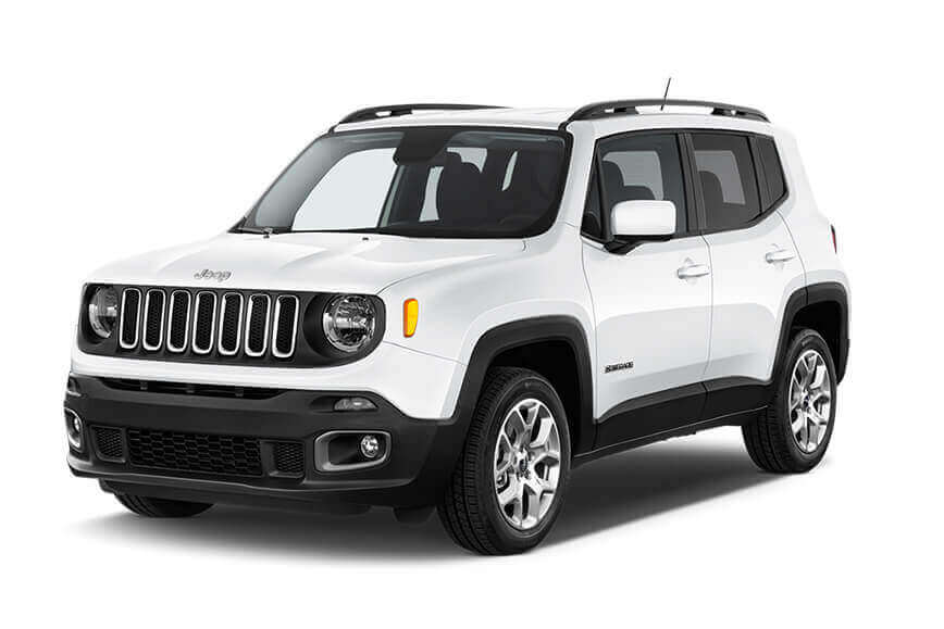 Hire a Jeep Renegade at yes rent a car